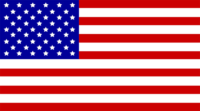 smaller US flag