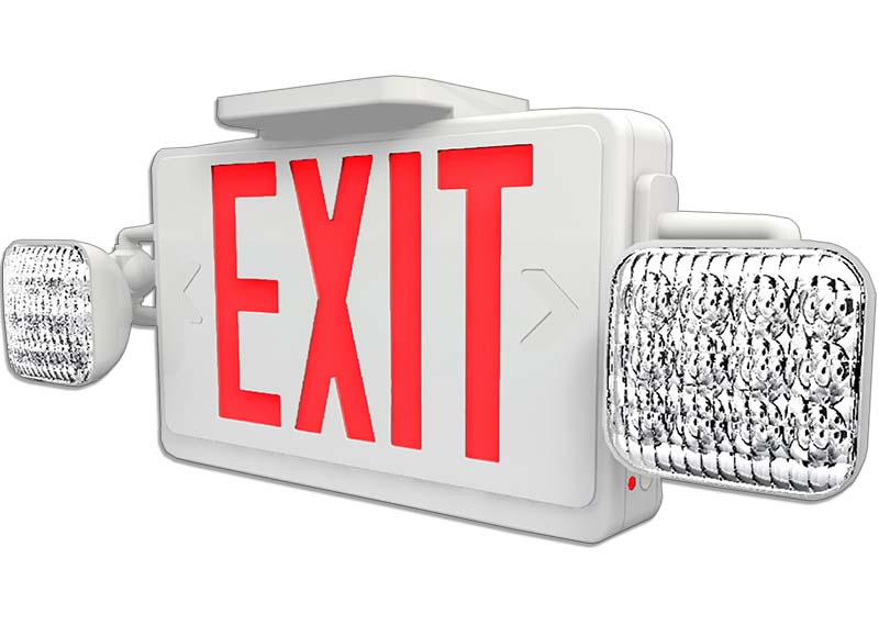 XEC - LED Exit / Emergency Combo Image